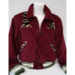 Claret Cord Park Regal Jacket