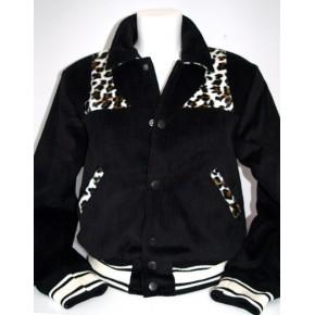 Girls Black Park Regal Jacket