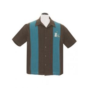 Steady - Mickey Teal Tiki Shirt