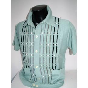 Mint Pockets Knitted Shirt