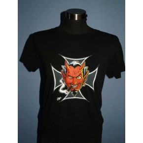 Coop - Devil Cigar Girl Tee