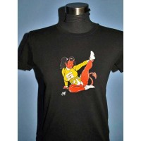 Coop - Devil Cheerleader Girls Tee