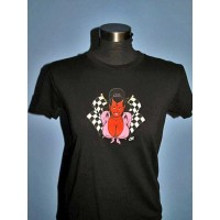 Coop - Chequered Flag Girls Tee