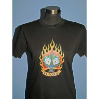 Toxico - Dice/Flames Girls Tee