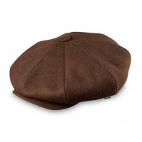 Broner - Wool Baker Boy Cap Brown