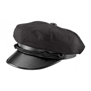 Brando - Black Motor Cycle Cap
