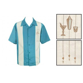 Steady Clothing - Blue The Shaker Shirt