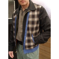 Tarantula - Black/Plaid Albie Jacket