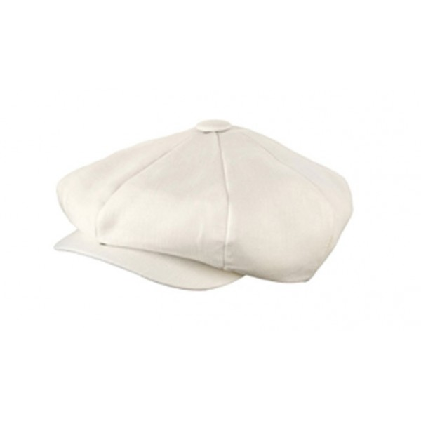 Broner - Cream Linen Baker Boy Cap 55cf0efd751