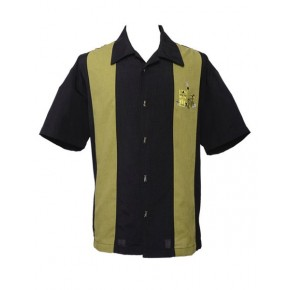 Steady Clothing - Black Mickey/Tiki Cocktail Shirt