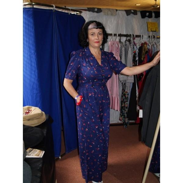 fa53fdeace Marlena Vintage 1940s 50s Jumpsuit