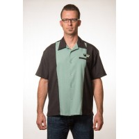 Steady Clothing - Green Split Crown Panel Shirt