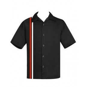 Steady Clothing - Black V8 Racer Shirt