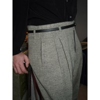 Stone Fleck High Waisted Trousers