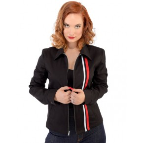 Steady - Black Girls Racer Jacket