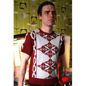 Argyll Claret Knit