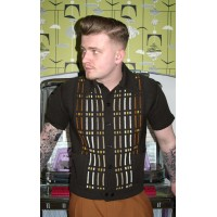 Brown Pocket Knitted Shirt