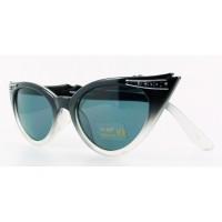 Betty - Black Fade Sunglasses