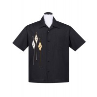 Steady - Black Diamond Music Notes Shirt