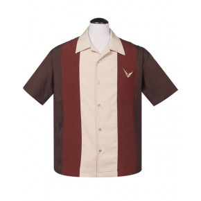 Steady - Brown Atomic Madmen Shirt