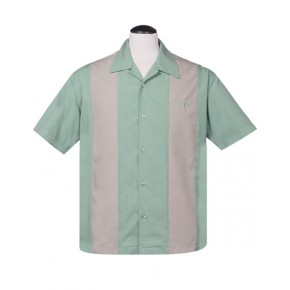 Steady - Simple Times Mint Panel shirt