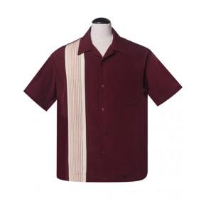 Steady - Burgundy Americano Shirt
