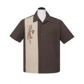 Steady - Brown Mai Tai Shirt