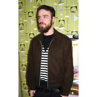 Brown Wool Ricky Jacket