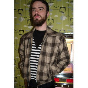 Brown Plaid Ricky Jacket
