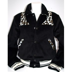 Girls Black Park Regal Jacket