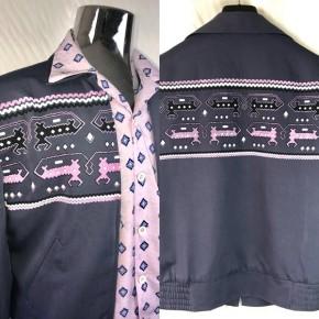 Grey Dragons and Dogs Gab Jacket