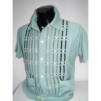 Mint Pockets Knitted Shirt