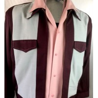 Swankys - Burgundy Johnny D Jacket