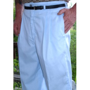 Ice Blue High Waisted Trousers