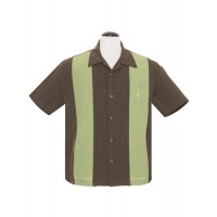 Steady - Coffee 3 Star Panel Shirt