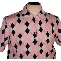 Pink Argyll Gaucho Shirt