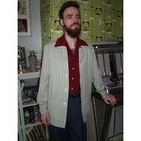 Grey Stripe Fleck Hollywood Jacket