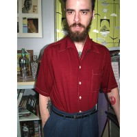 The Marco - Burgundy Shirt