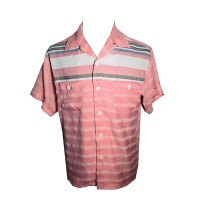 Swankys - 2 Tone Candy Stripe Shirt