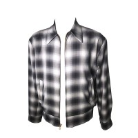Swankys - Grey Shadow Plaid Jacket
