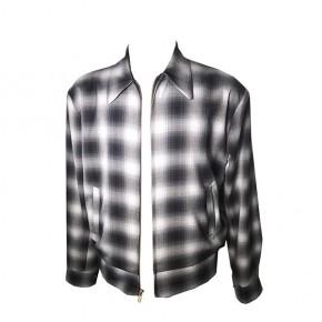 Swankys - Grey Shadow Plaid Jacket