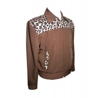 Swankys - Brown/Leopard Tennessee Jacket