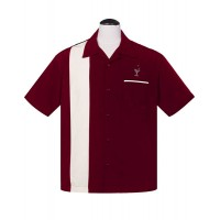 Steady - Burgundy Cocktail Lounge Shirt