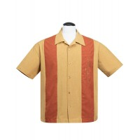 Steady - Mustard Mid Cent Marvel Shirt