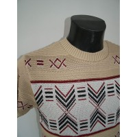 Cream Thunderbird Knit