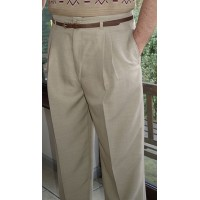 Sand High Waisted Trousers