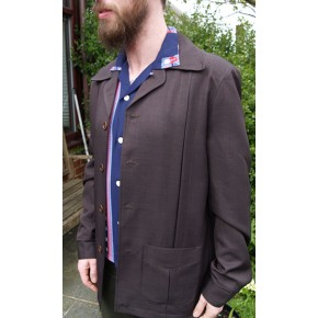 Chocolate Brown Hollywood Jacket