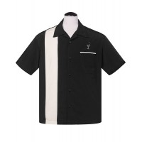 Steady - Black Cocktail Lounge Shirt