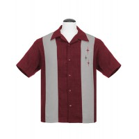 Steady - Burgundy 3 Star Shirt