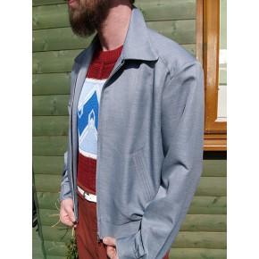 Silver Grey Ricky Jacket